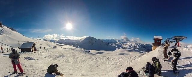 Skiing at Montgenevre