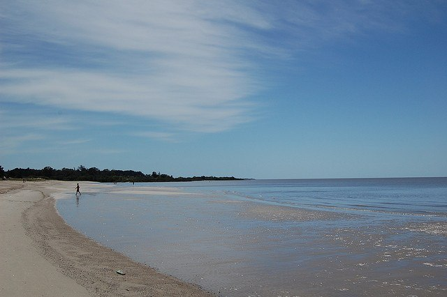 Beach in Colonia del Sacramento