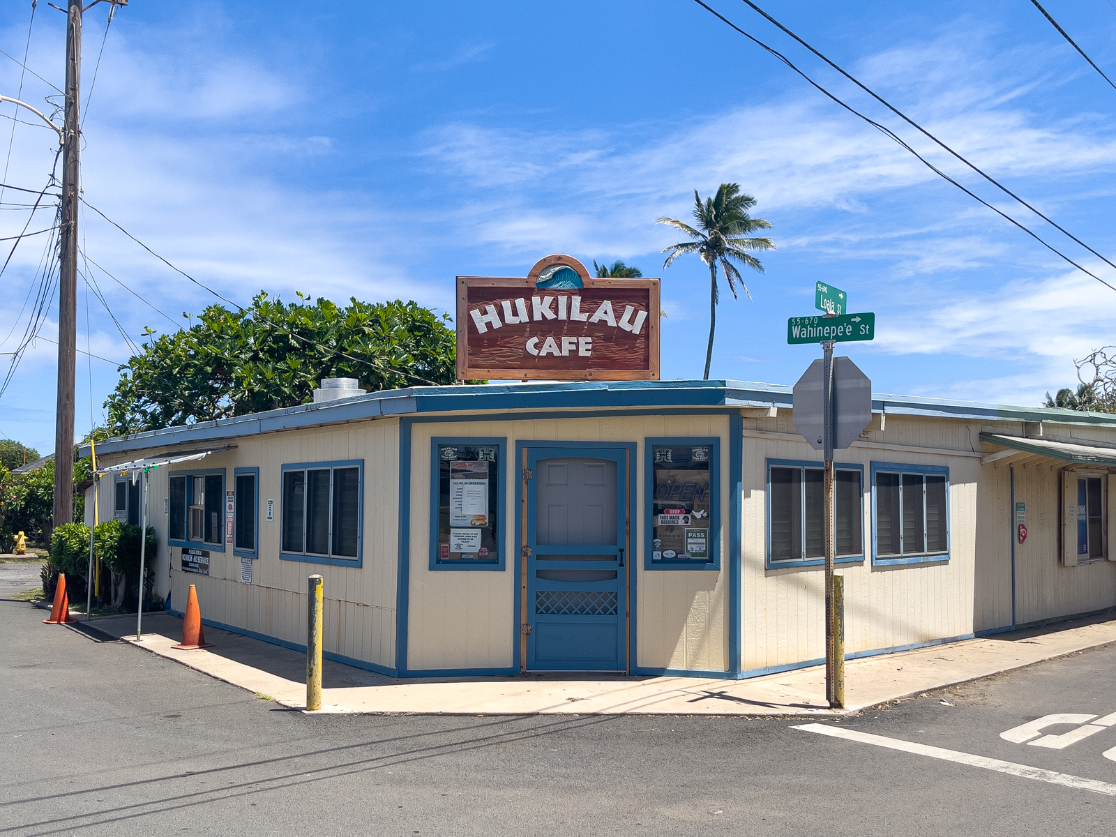 Hukilau Cafe (photo: Dave Lee)
