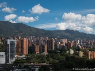 The Poblado neighborhood in Medellin