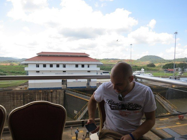 Bored at Panama Canal
