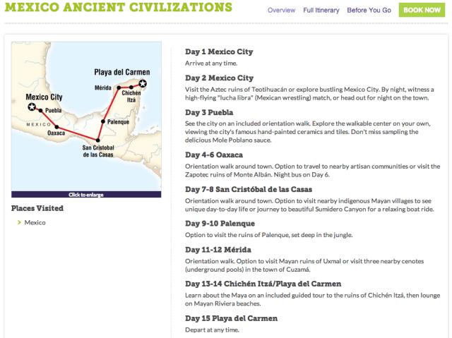 Mexico Ancient Civilizations