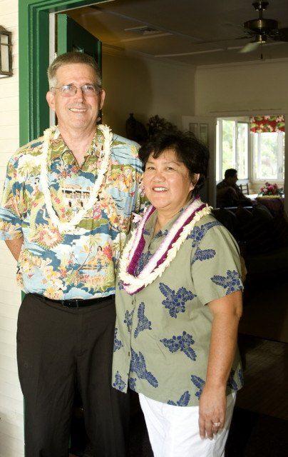 Tom and Janice Fairbanks at The Old Wailuku Inn