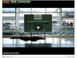 """Heineken's """"Departure Roulette"""" Challenges Travelers to Step Into the Unknown"""