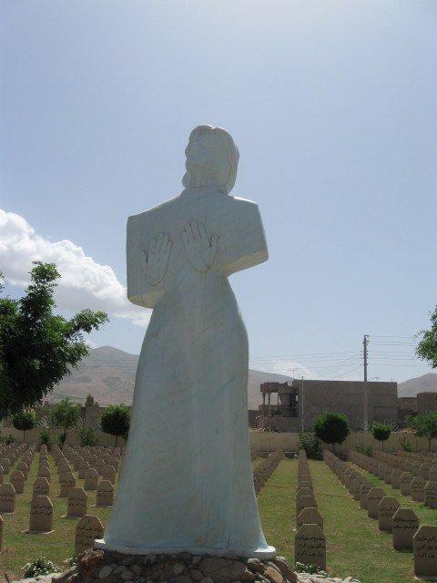Halabja statue
