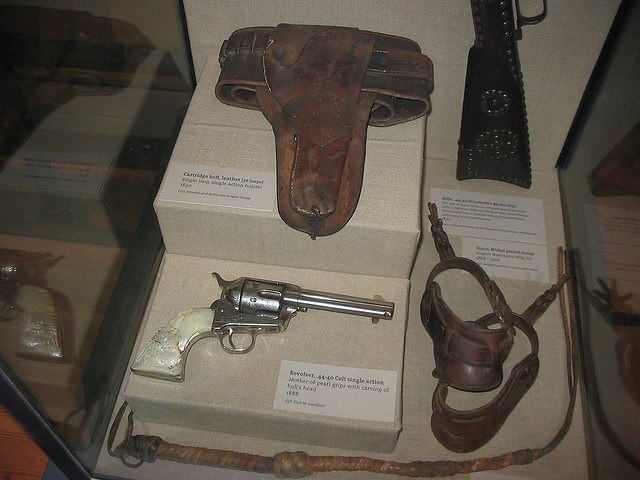 A 1888 Single Action Colt Revolver (photo: The_Gut)