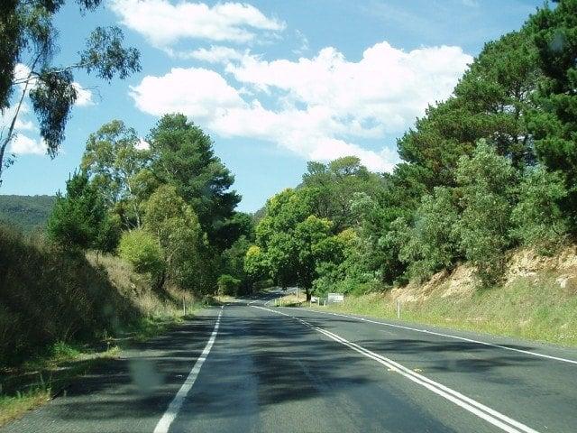Road Scenes. Orange, Katoomba NSW (photo: Amanda Slater)