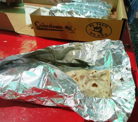 Mexican burritos