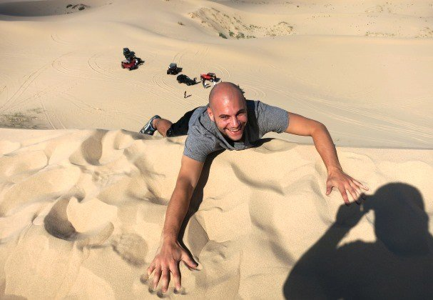 Falling Sand Dunes