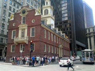 On the Freedom Trail in Boston (photo: r h)