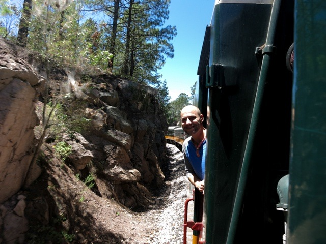 Copper Canyon Train Selfie (1 of 1)