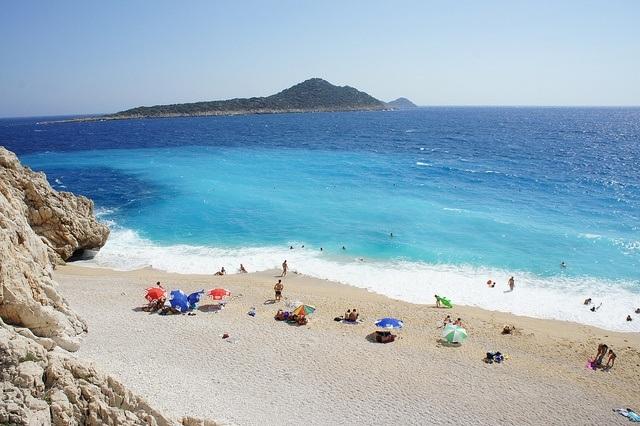 Kaputas Beach in Kalkan, Turkey