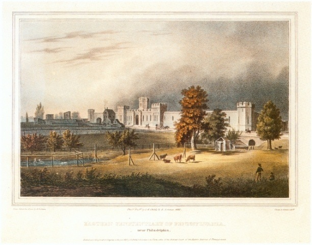 Eastern State Penitentiary Lithograph
