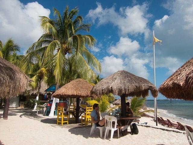 Playa Palancar on Cozumel