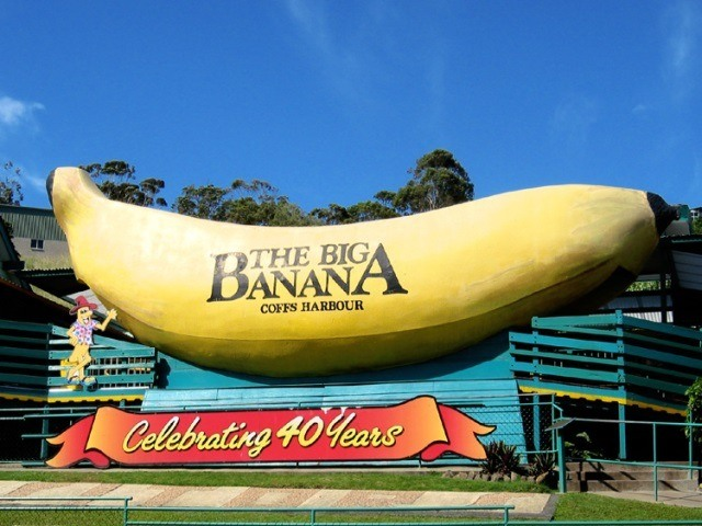 Big Banana at Coffs Harbour