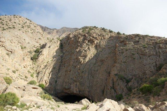 Cave in Simin Dasht