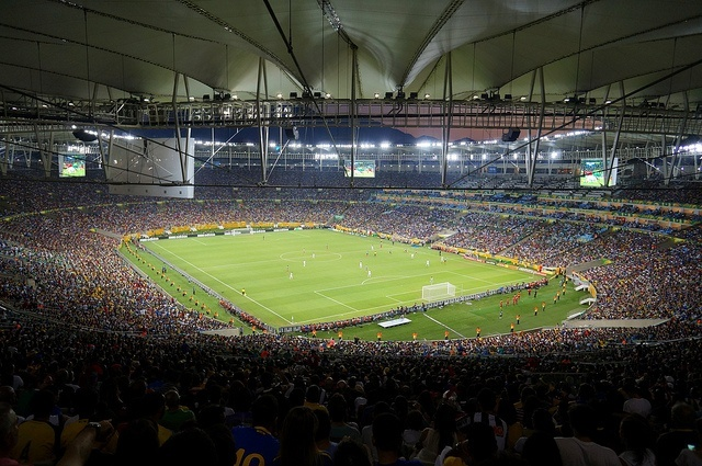 The Maracanã stadium in Rio will be the site of the 2014 World Cup Final (photo: Leandro Neumann Ciuffo)