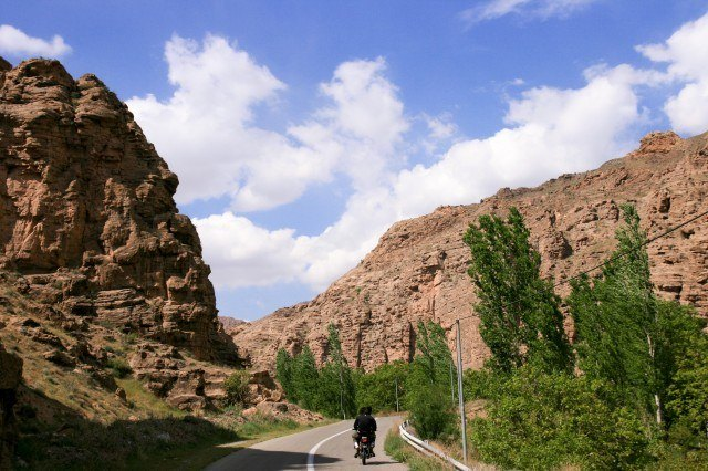 Roads in Simin Dasht