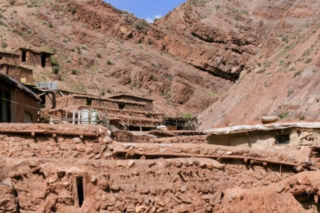 Mud houses in Simin Dasht