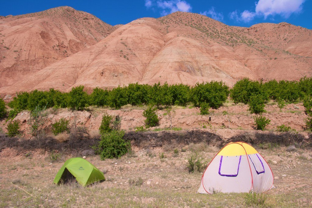 Camping in Simin Dasht