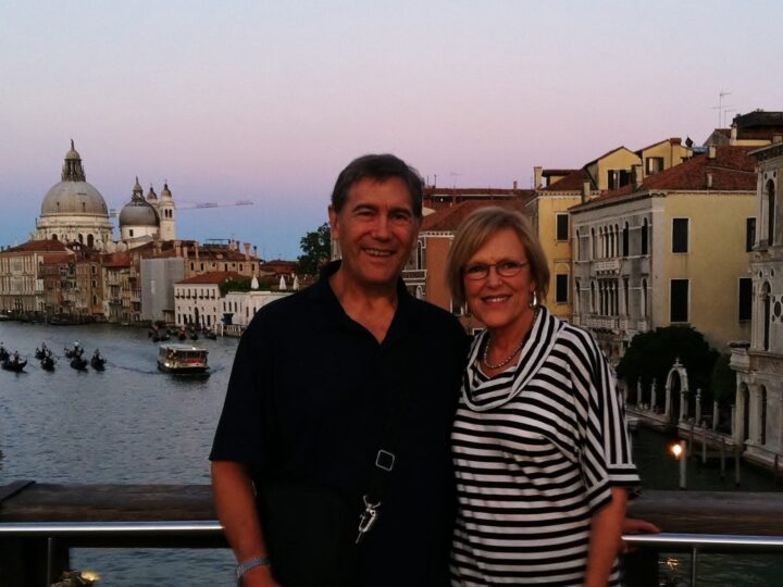 Lynne and Tim in Venice