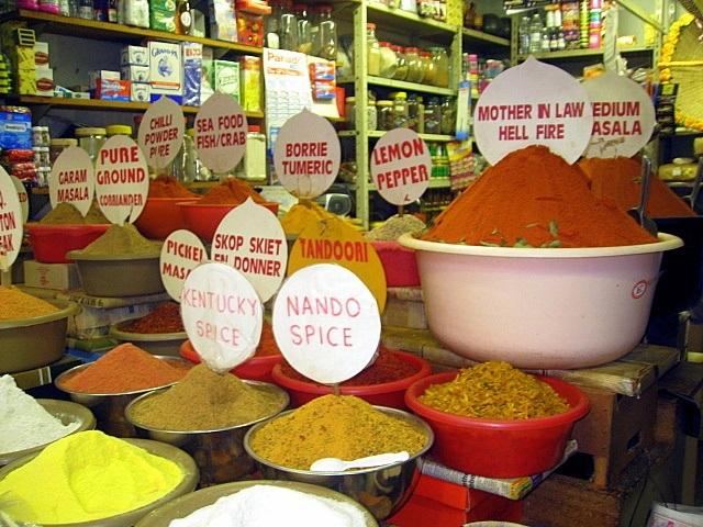 Spices in Victoria Street Market