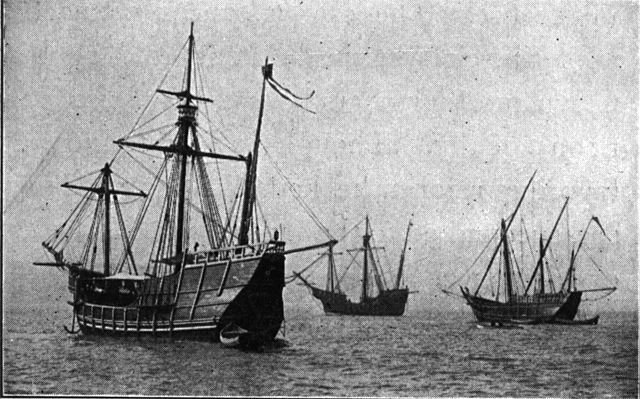 Crowdfunding helped Christopher Columbus sail the Pinta, Niña and the Santa Maria. (photo: Wiki Commons).