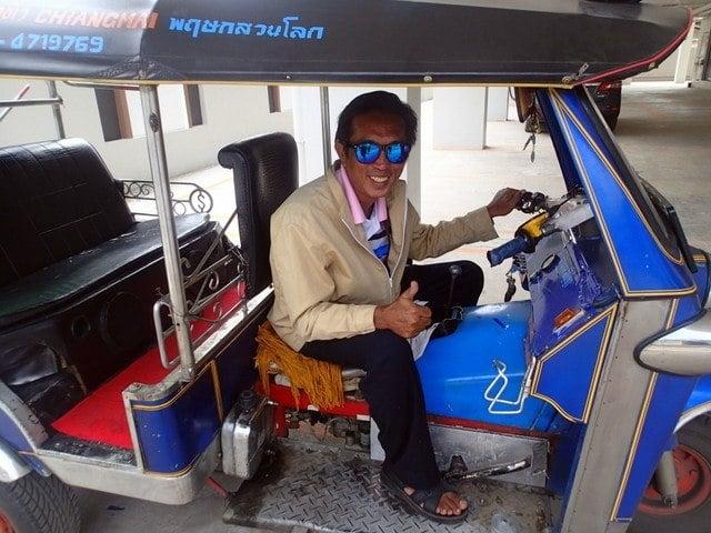 Tuk Tuk driver in Thailand