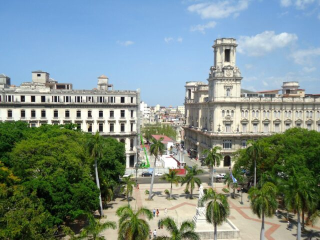 View of Old Havana from a hotel terrace.