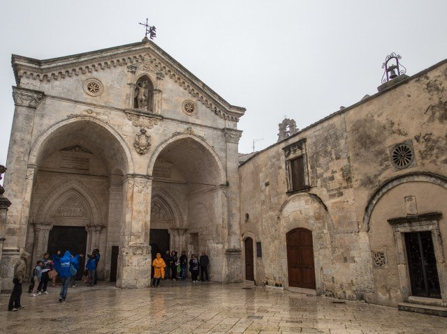 Entrance to the Monte Sant' Angelo
