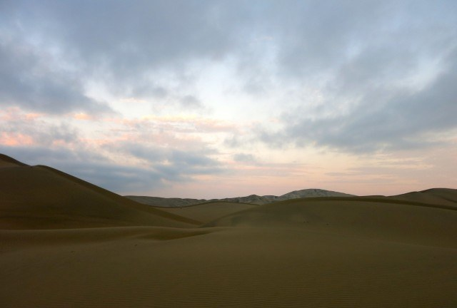 Huacachina was beautiful but it's no surprise that, in the middle of the desert, the Wi-Fi is weak.
