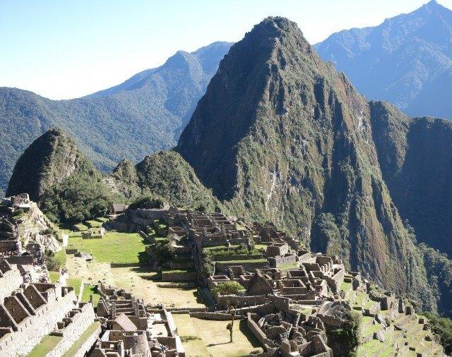 I definitely drank coca leaf tea before climbing Machu Picchu.