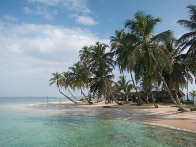 Kuanidup, one of the many San Blas islands