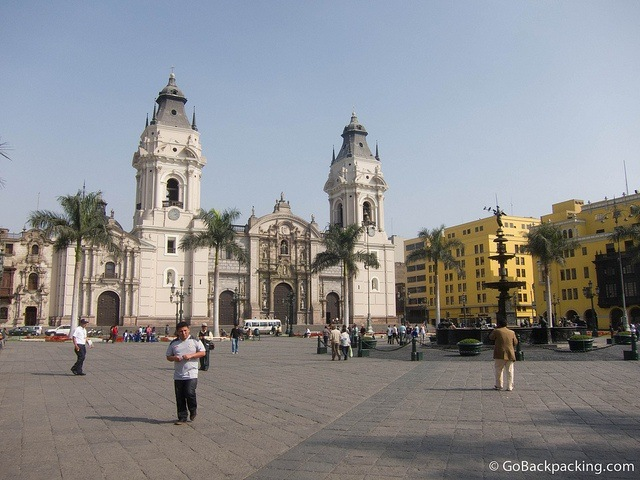 Plaza Mayor & Lima Cathedral