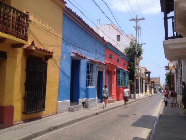 Colorful Cartagena