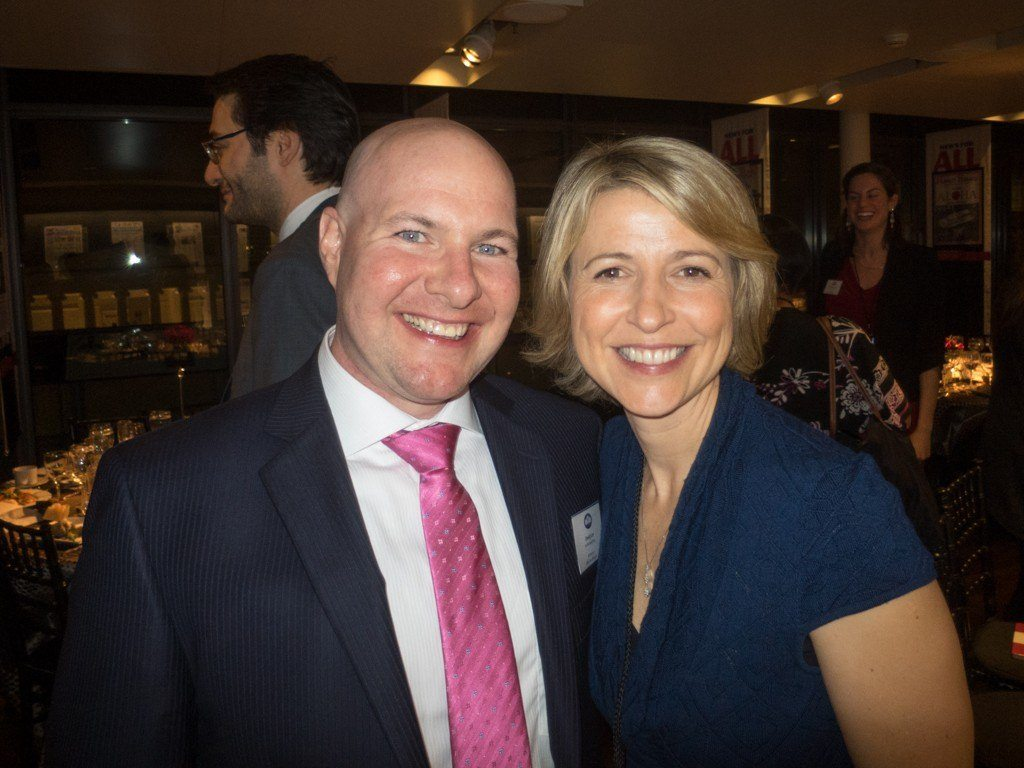 Me and Samantha Brown