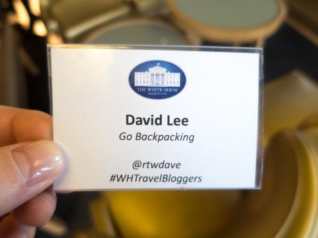 White House badge