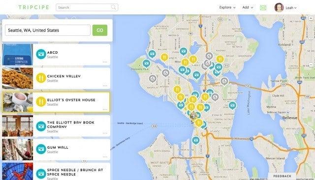 The Tripcipe App A Digital Scrapbook for Travel Planning – App Travel Map