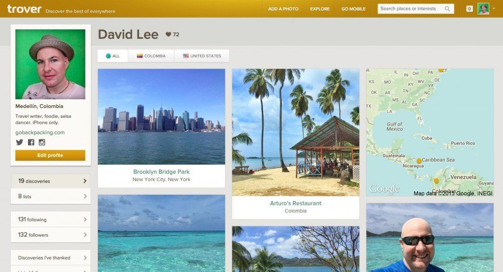 David Lee on Trover