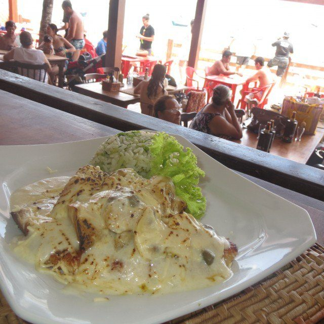 The tilapia at Peixe na Telha in Porto de Galinhas was one of the best meals on my trip.