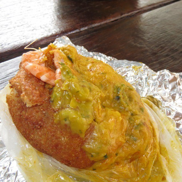 If you're buying street food in northeast Brazil, acarajé is your best option.