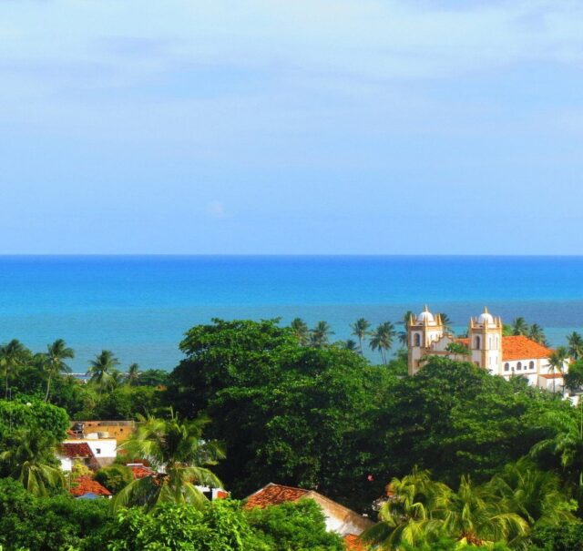 The small colonial town of Olinda and stunning views from its hilly neighborhoods.
