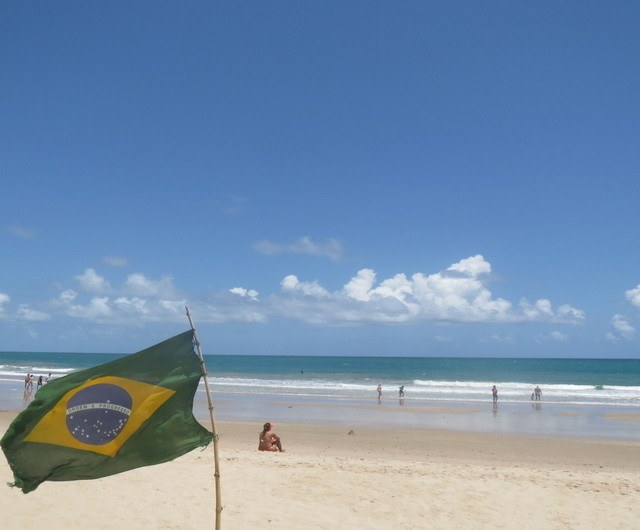 My favorite beach in northeast Brazil was Porto de Galinhas.