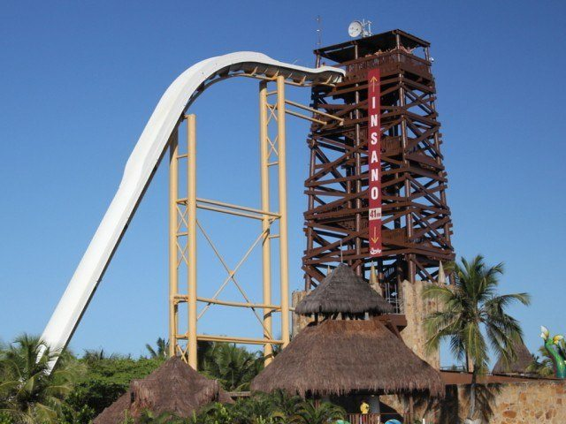 """It's easy to understand why this slide at Beach Park was named, """"Insano."""""""