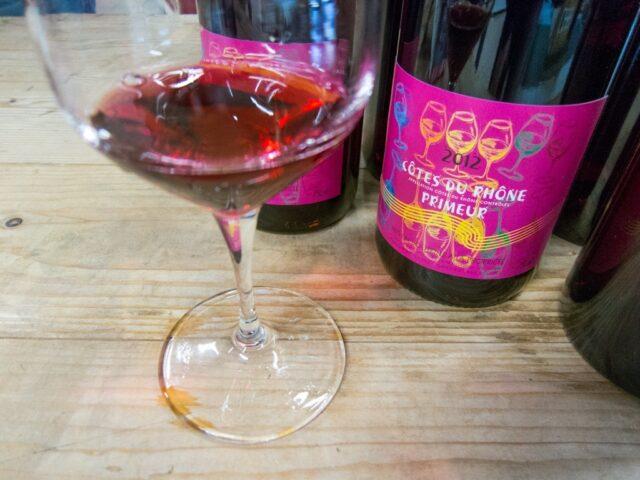 Wine tasting at Les Halles