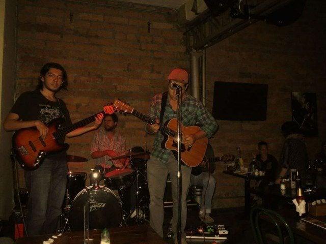 Live jazz at El Acontista in Medellín