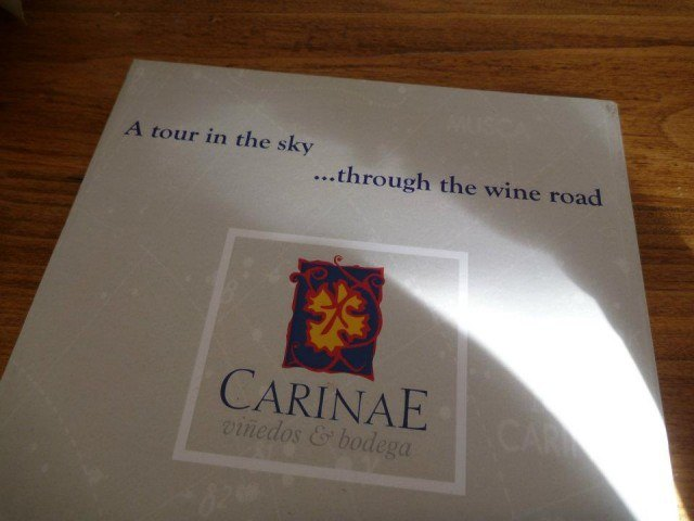 CarinaE was my favorite bodega in Argentina.