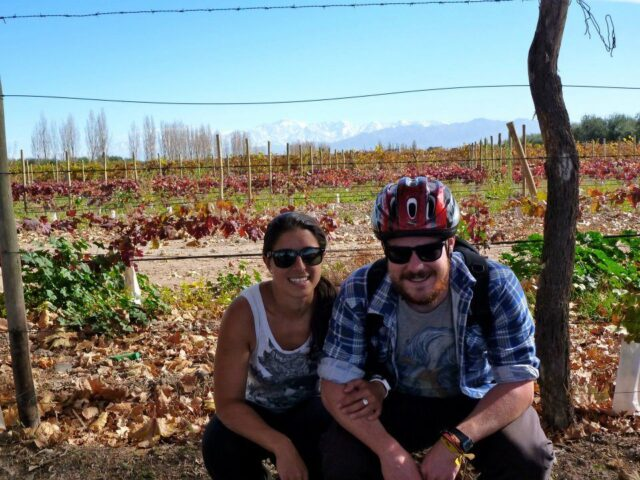 A couple of the travelers I met during my wine tours near Mendoza