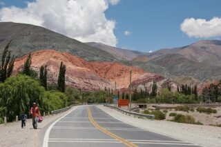 Northwest Argentina and the Cerro de Siete Colores