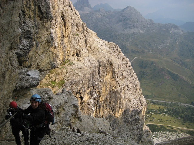 Dolomite's Via Ferrata
